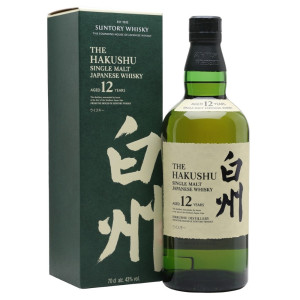 Hakushu - Japanese single malt whisky 12 yo gb - 0.7L, Alc: 43%