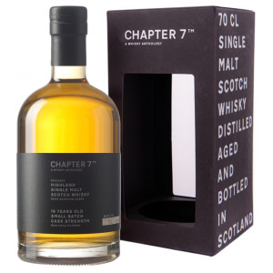 Chapter 7 - Scotch single malt whisky Highland 19 yo - 0,7L, Alc: 56.2%
