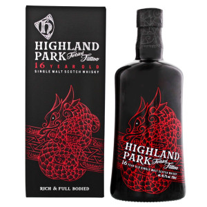 Highland park - Twisted Tatoo Scotch single malt whisky 16 yo - 0.7L