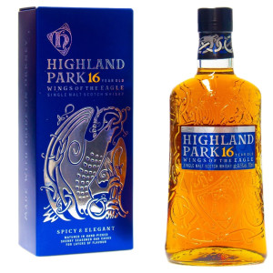 Highland Park - Wings Of The Eagle Scotch single malt whisky 16 yo - 0.7L