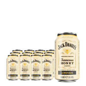 Jack Daniel's RTD - Honey & Lemonade 12 bucati x 0,33L buc, Alc: 5%