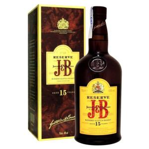 J & B Rare - Reserve Scotch Blended Whisky 15 yo GB - 0.7L, Alc: 40%