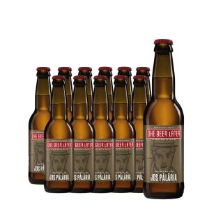 One Beer Later - Bere artizanala Jos Palaria 12 buc. x 0.33L, Alc: 6%