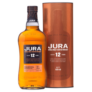 Isle of Jura - Scotch Single Malt Whisky 12 yo GB - 0.7L, Alc: 40%