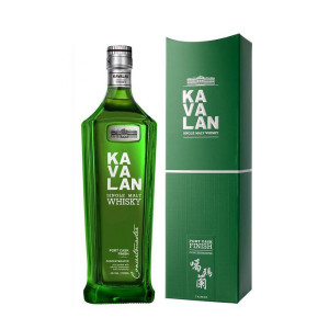 Kavalan - Concertmaster - Taiwan single malt, Port Cask Finish - 0.7L , Alc: 40%