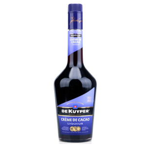 De Kuyper - Lichior Creme de cacao brown - 0.7L, Alc: 24%