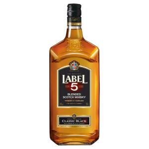 Label 5 - Scotch blended whisky - 1L, Alc: 40%