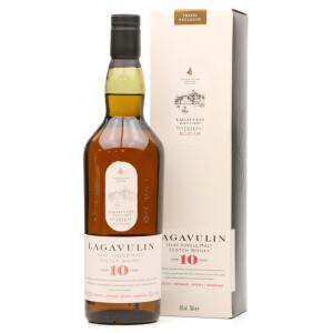 Lagavulin - Scotch Single Malt Whisky 10 yo GB - 0.7L, Alc: 43%