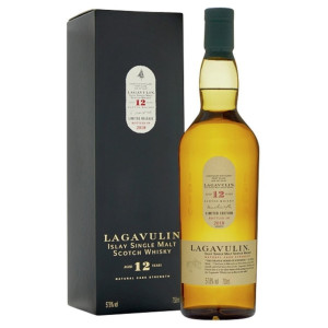Lagavulin - Scotch Single Malt Whisky 12 yo GB -  0.7L, Alc: 57.8%