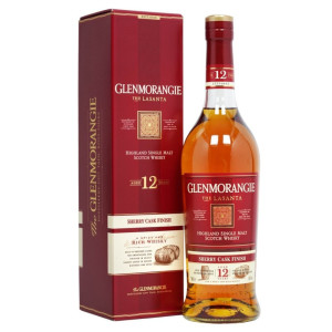 Glenmorangie - Lasanta Scotch Single Malt whisky 12 yo, cutie - 0.7L, Alc: 43%