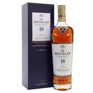 Macallan - Double Cask Scotch single malt whisky 18 yo - 0.7L, Alc: 43%
