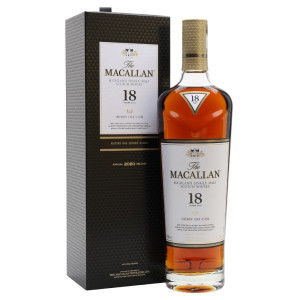 Macallan - Sherry Oak Cask Scotch Single Malt Whisky 18 yo GB - 0.7L, Alc: 43%