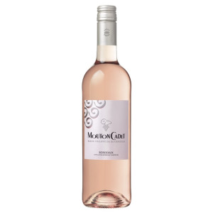 Mouton Cadet - Bordeaux rose 2019 - 0,75L, Alc: 13%