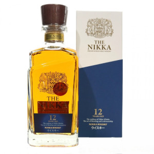 Nikka - Japanese single malt whisky  12 yo + GB - 0.7L, Alc: 43%