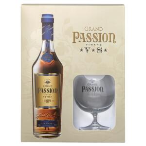 Grand Passion - Vinars VS GB + 1 pahar - 0.7L, Alc: 40%