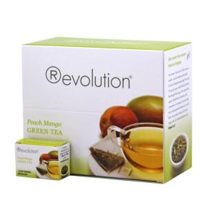 Revolution - Hot tea - Peach mango green 30 plic