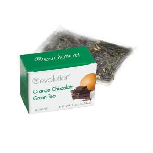 Revolution - Hot tea - Orange chocolate green 30 pl.