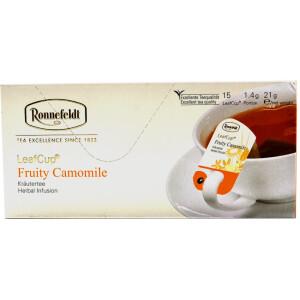 Ronnefeldt - Ceai Leafcup Fruity Camomile 15 plic