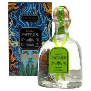 Patron - Tequila Silver Mexican Heritage tin - 0.7L, Alc: 40%