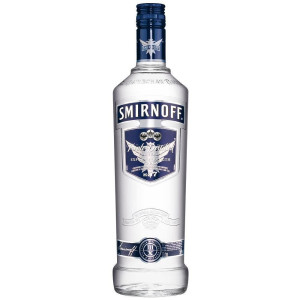 Smirnoff blue label 1 L, Alc: 50%