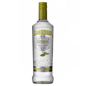 Smirnoff - Vodka citrus twist - 0.7L, Alc: 37.5%