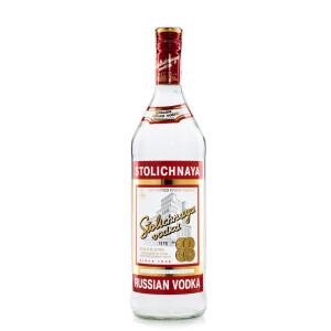 Stolichnaya - Vodka - 1L, Alc: 40%