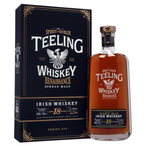 Teeling - Irish single malt whiskey Renaissance Vol 1. 18 yo, gb - 0.7L, Alc: 46%