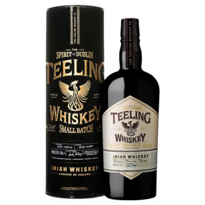 Teeling - Irish whiskey Small Batch gift tin - 0.7L, Alc: 46%