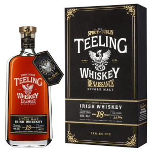 Teeling - Irish single malt whiskey Renaissance Vol 2. 18 yo, gb - 0.7L, Alc: 46%