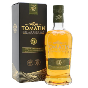 Tomatin - Scotch single malt whisky 12 yo - 0,7L, Alc: 43%