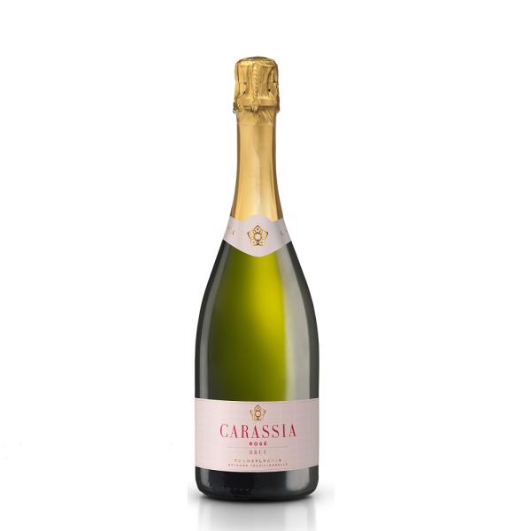 Crama Carastelec - Spumant Carassia Pinot Noir rose 2016 - 1.5L, Alc: 12.5%
