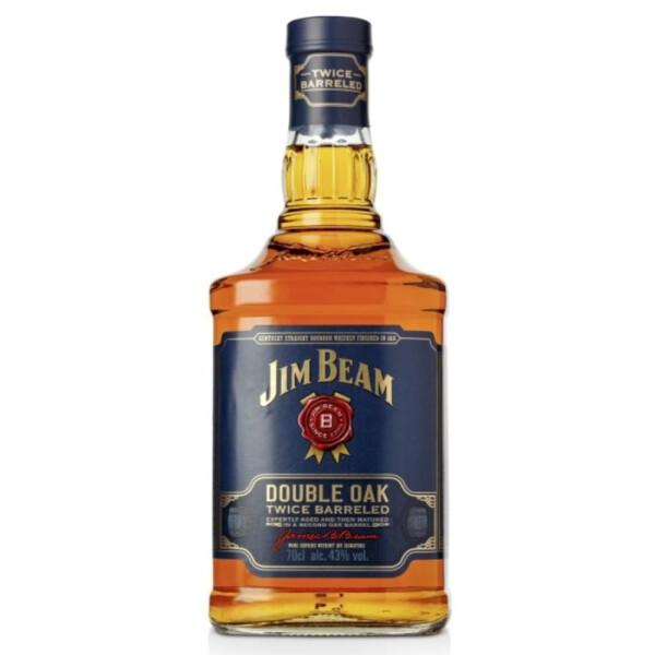 Jim Beam - Double Oak American Bourbon whiskey - 0,7L, Alc: 43%