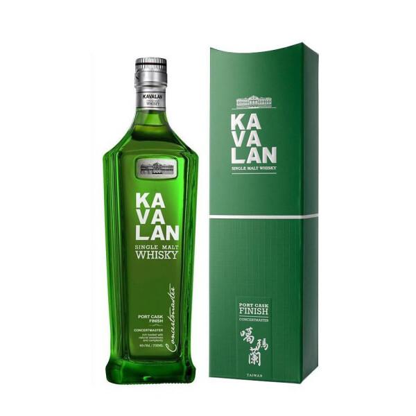 Kavalan - Concertmaster - Taiwan single malt, Port Cask Finish - 0.7L , Alc: 40%
