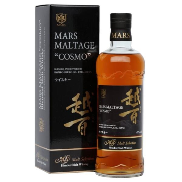 Mars - Cosmo Japanese blended malt whisky - 0.7L