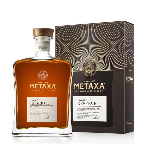 Metaxa - Brandy Private Reserve single batch - 0.7L, Alc: 40%