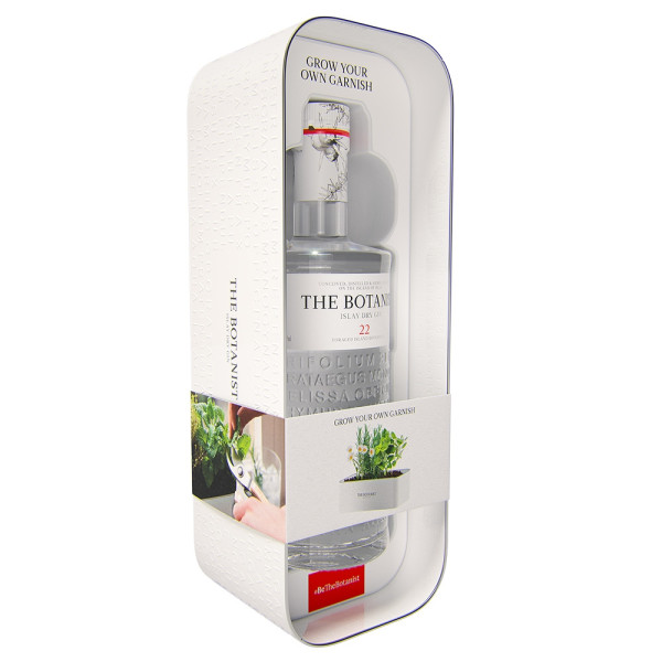The Botanist - Dry Gin + Tin Planter - 0.7L, Alc: 46%