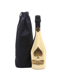 Armand de Brignac - Sampanie Brut Gold Velvet bag - 0.75L
