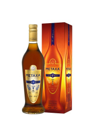 Metaxa 7 stele 0.70 L gift box