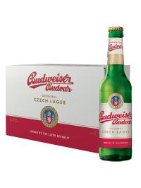 Budweiser Budvar - Bere Lager 24 buc. x 0.33L, sticla, Alc: 5%