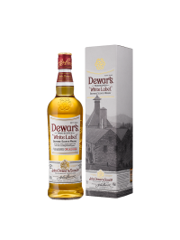 Dewar's - Scotch blended whisky white label gift box - 0.7L, Alc: 40%