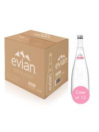 Evian - Apa minerala naturala (plata) 12 buc x 0,75L sticle