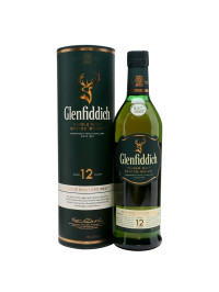 Glenfiddich - Scotch single malt whisky 12 yo - 1L, Alc: 40%