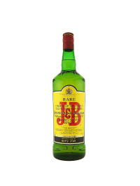 J & B Rare - Scotch blended whisky - 1L, Alc: 40%