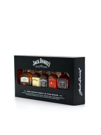 Jack Daniel's - Tennessee whiskey Family of Brands miniatures 5 x 0.05L, Alc: 40%