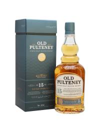 Old Pulteney - Scotch Single Malt Whisky 15 yo GB - 0.7L, Alc: 46%
