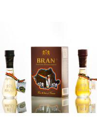 Bran - Palinca prune + Rachiu prune set toiuri miniatura 2 x 0.045L, Alc: 50%