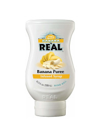 Real - Piure Banana 0.5L
