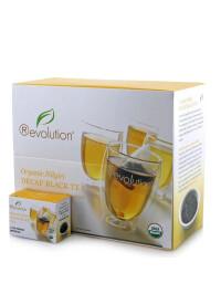 Revolution - Hot tea - Organic Nilgiri decaf. black 30 plic