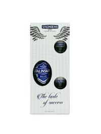 Stalinskaya - Vodka Blue + 2 shoturi - 0.7L, Alc: 45%
