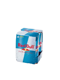 Red Bull - Energy drink sugar free 0.25 L x 4 pack